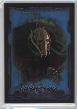 2016 Topps Star Wars Masterwork - [Base] - Blue Metallic #30 - General Grievous