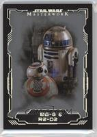 BB-8 & R2-D2 #/99