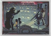 Darth Vader, Luke Skywalker #/299