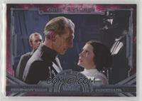 Grand Moff Tarkin, Princess Leia