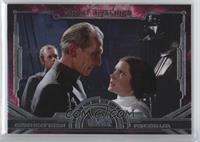 Grand Moff Tarkin, Princess Leia