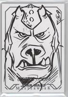 Jason Sobol (Gamorrean Guard) #1/1