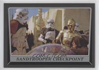 Sandtrooper Checkpoint