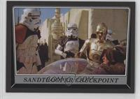 Sandtrooper Checkpoint