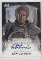 Forest Whitaker as Saw Gerrera /50