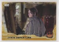 Jyn's Departure #/50