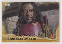 Baze Back At Base [Noted] #/50