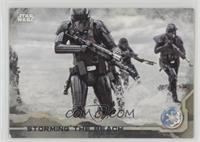 Storming the Beach /100