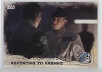 Reporting To Krennic