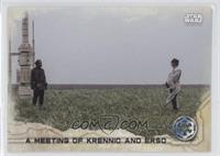 A Meeting of Krennic and Erso