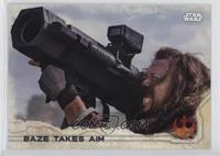 Baze Takes Aim