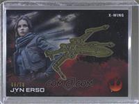 Jyn Erso (X-Wing) #/50