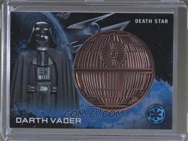 2016 Topps Star Wars: Rogue One Series 1 - Commemorative Medallion #DAVD - Darth Vader (Death Star)