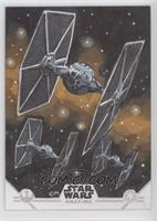Chris Meeks (Tie Fighters) #/1