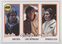 Han Solo, Luke Skywalker, Princess Leia Organa #/989