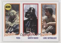 Yoda, Darth Vader, Luke Skywalker #/989