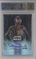 Anthony Daniels as C-3PO /50 [BGS 9]