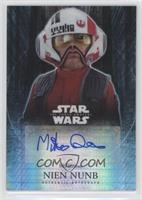 Mike Quinn as Nien Nunb [Noted] #/50