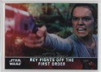 Rey Fights Off the First Order #/99