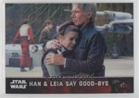 Han & Leia Say Good-Bye #/99