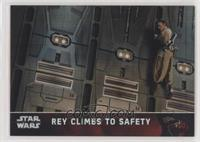 Rey Climbs to Safety #/99