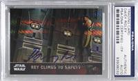 Rey Climbs to Safety [PSA/DNACertifiedEncased] #/99