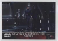 Kylo Ren & General Hux Confer