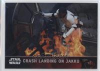 Crash Landing on Jakku