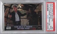 Han Solo & Chewie Return Home [PSA 9 MINT]