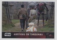 Arriving on Takodana