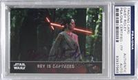 Rey is Captured [PSA/DNA Certified Encased]