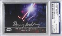 The Duel of Rey and Kylo Ren [PSA/DNA Certified Encased]