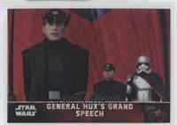 General Hux's Grand Speech