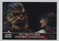 Doctor Kalonia Examines Chewbacca