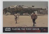 Fleeing the First Order #/50