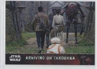 Arriving on Takodana #/50