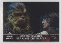 Doctor Kalonia Examines Chewbacca #/50