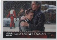 Han & Leia Say Good-Bye #/50