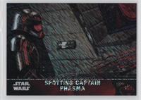 Spotting Captain Phasma #/50