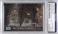 Rey Climbs to Safety [PSA/DNA Certified Encased] #/50