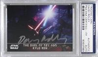 The Duel of Rey and Kylo Ren [PSA/DNACertifiedEncased]