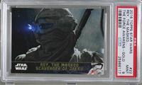 Rey, the Masked Scavenger of Jakku [PSA 9 MINT] #/100