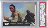 Fleeing The First Order [PSA 10 GEM MT] #/100