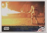 Flametroopers Burn the Village #/100