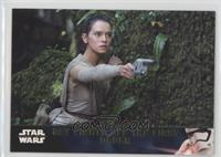Rey Fights Off The First Order #/100