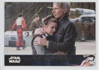 Han & Leia Say Good-Bye #/100