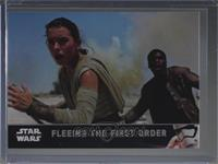 Fleeing The First Order [Noted] #/1