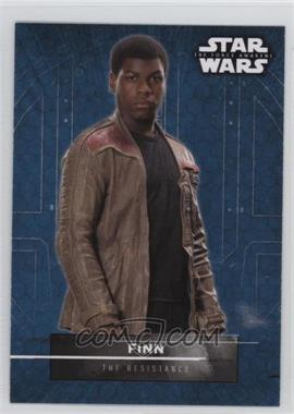 2016 Topps Star Wars: The Force Awakens Series 2 - Character Stickers #1 - Finn