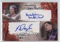 Melissa McBride as Carol Peletier, Jason Douglas as Tobin /99