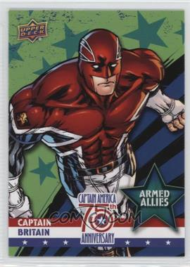 2016 Upper Deck Captain America 75th Anniversary - Armed Allies #AA-19 - Captain Britain